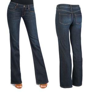 CAbi deep indigo zoe bootcut jeans. Size 6